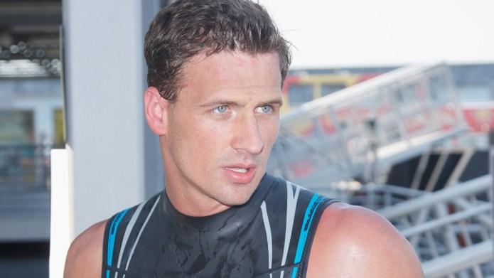 World champion swimmer, Ryan Lochte, makes