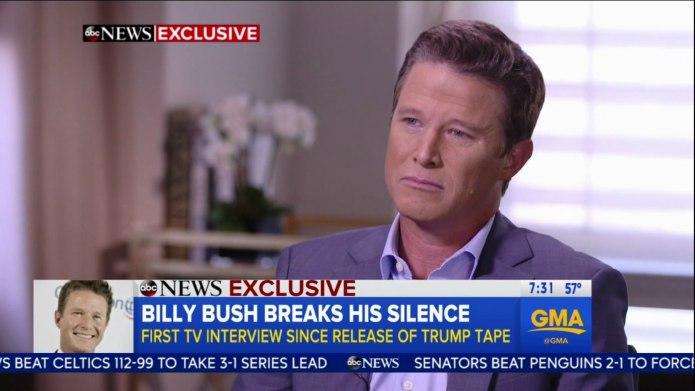 Billy Bush Calls Out Donald Trump: