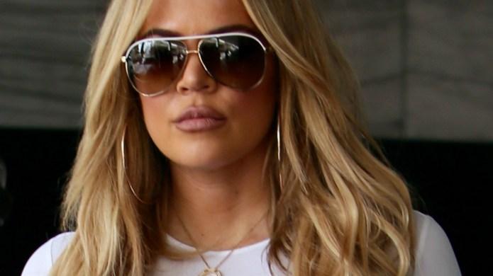 Khloé Kardashian accused of Photoshopping her