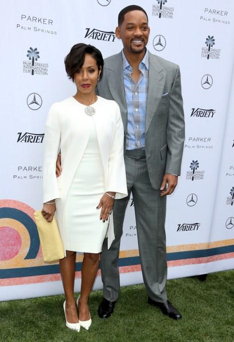 Jada Pinkett Smith and Will Smith in 2016