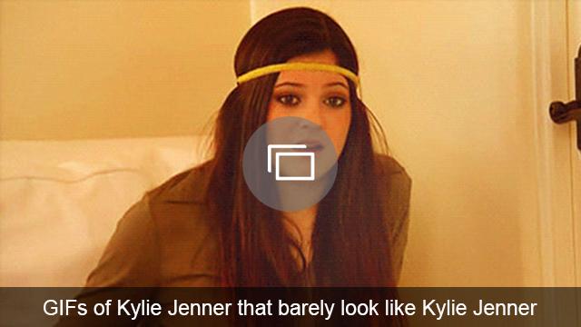 Kylie Jenner GIFs slideshow