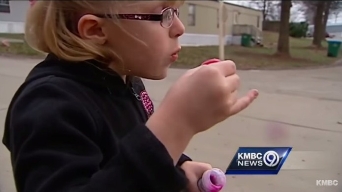 'Tiny' second-grader sent home with note