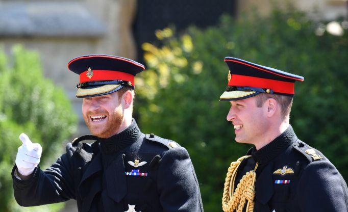 Prince Harry & Prince William royal wedding