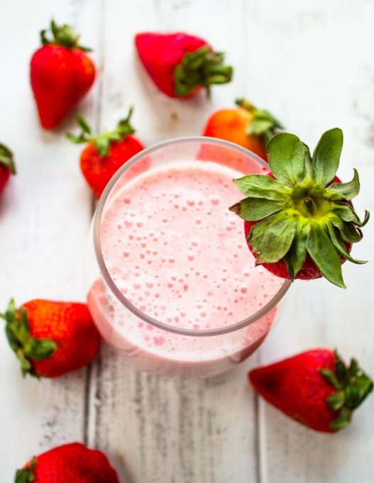 3-Ingredient Summer Smoothies | Summer Eats | Strawberry banana smoothie