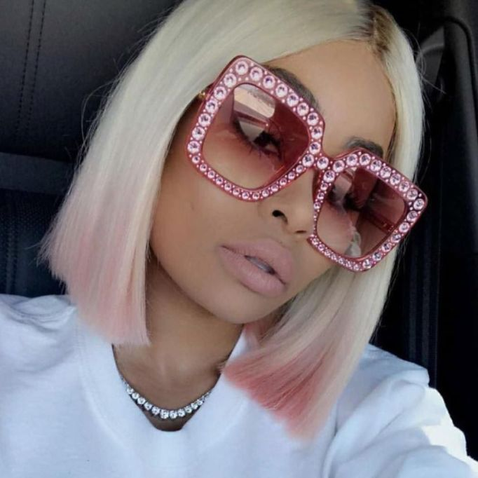 Celebrities With Seriously Cool Lobs | Blac Chyna