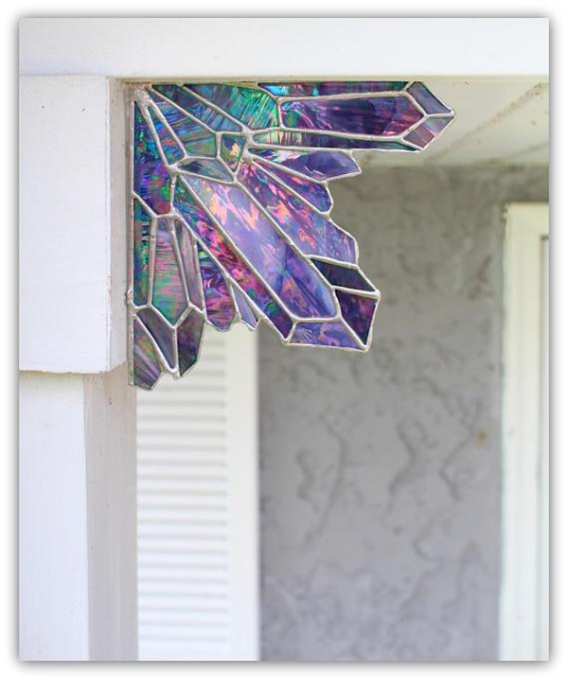 Etsy Decorating Trends: Aura Amethyst Crystal Cluster | Fall Decor