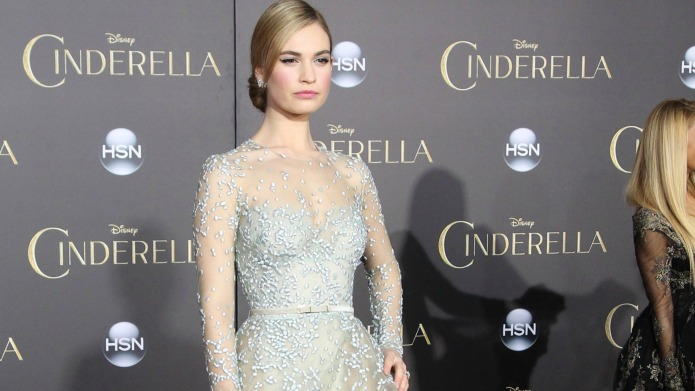Lily James admits to a liquid