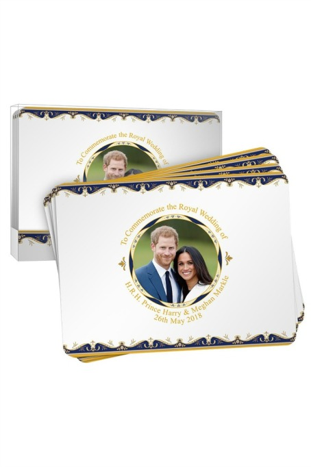 Royal Wedding Placemat