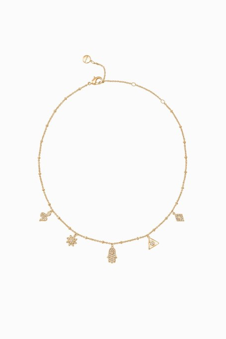 Gorgeous Jewelry Finds That Look Expensive: Rebecca Minkoff Cameron Charm Choker | Inexpensive Jewelry Trends