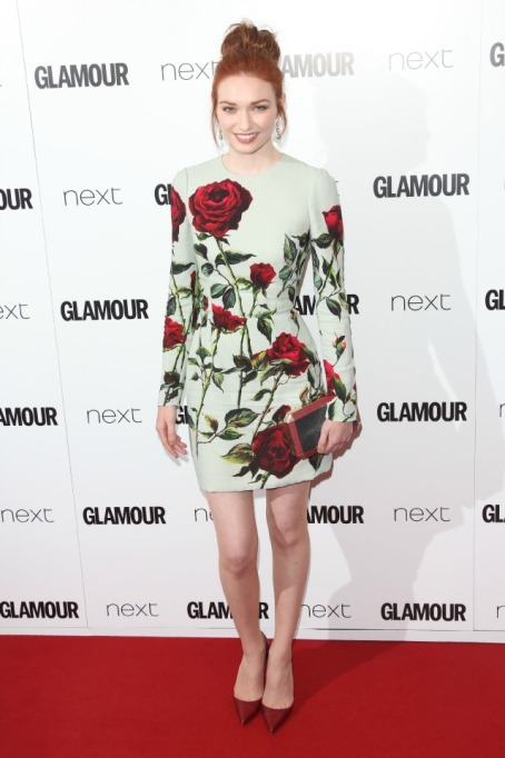 Eleanor Tomlinson at Glamour Women of the Year Awards