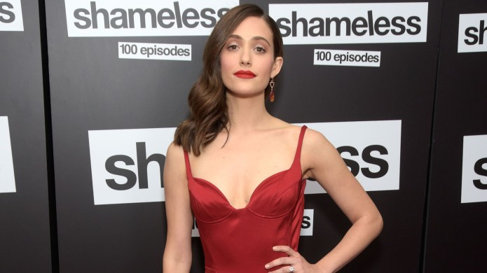 Emmy Rossum attends the celebration of