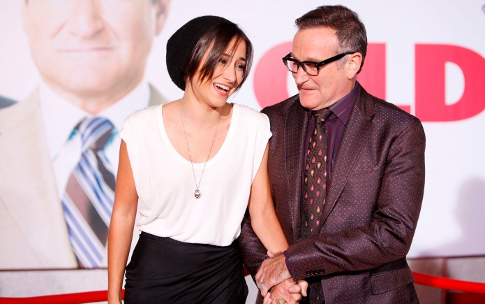 Zelda & Robin Williams at the