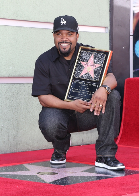 Celebrities Who Got a Star on the Walk of Fame in 2017: Ice Cube
