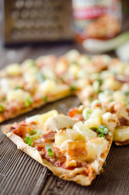 Healthy Pizza Recipes to Get Hooked On | Light Pineapple Chicken Bacon Pizza