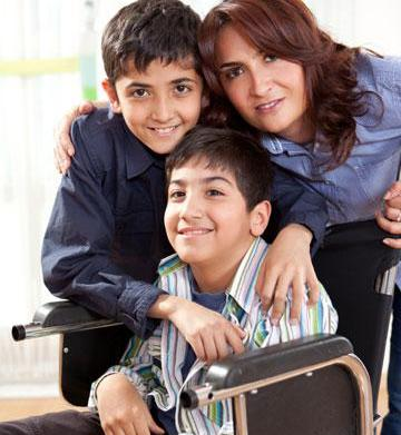 Parenting a child with a disability: