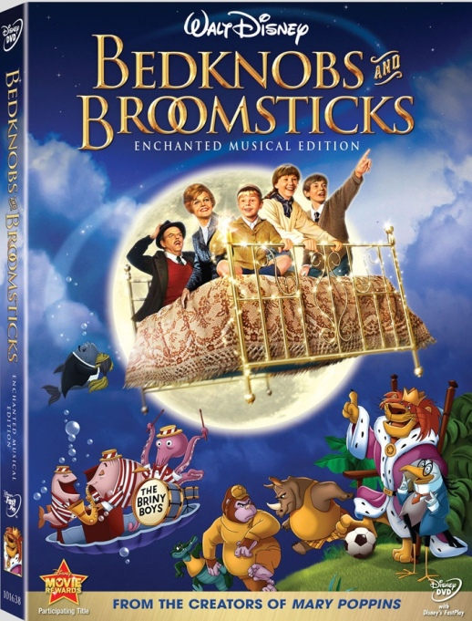 'Bedknobs and Broomsticks' DVD