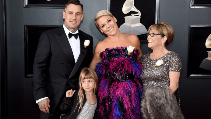 Pink Reacts to Yet Another Grammys