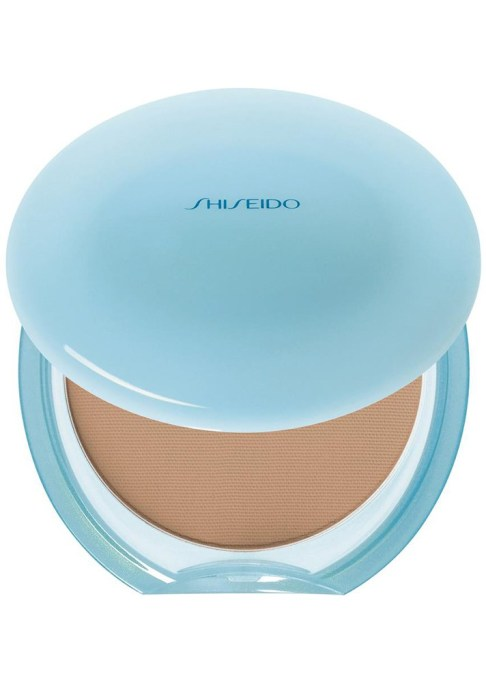 The Best Makeup Products for Oily, Shiny Skin: Shiseido Matifying Compact Oil-Free | Summer Makeup 2017