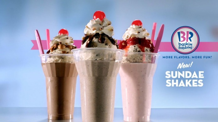 Baskin-Robbins Is Testing Sundae Milkshakes &