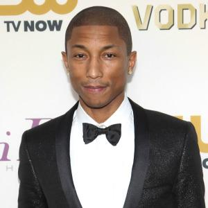 Pharrell Williams performing live at the