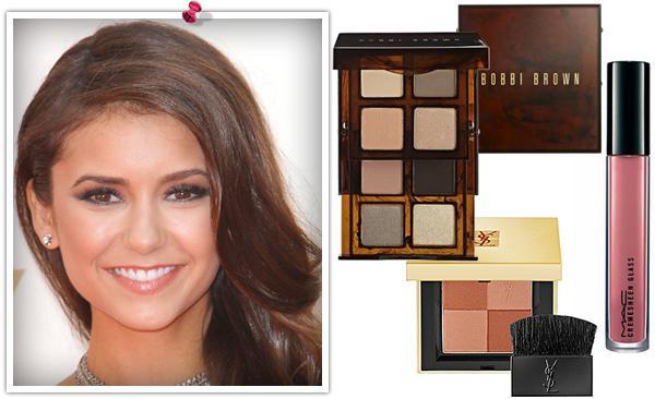 Get Nina Dobrev's Emmy makeup look