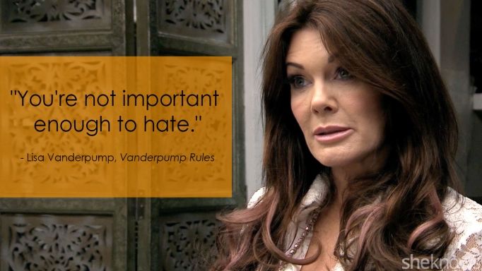 Vanderpump Rules' Lisa Vanderpump one-liner