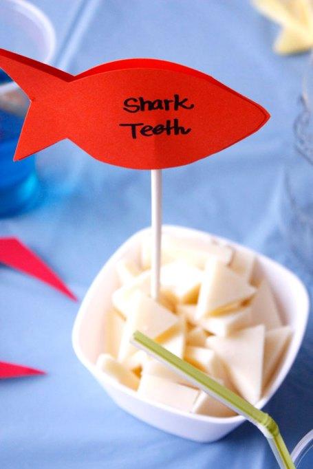 shark teeth cheese