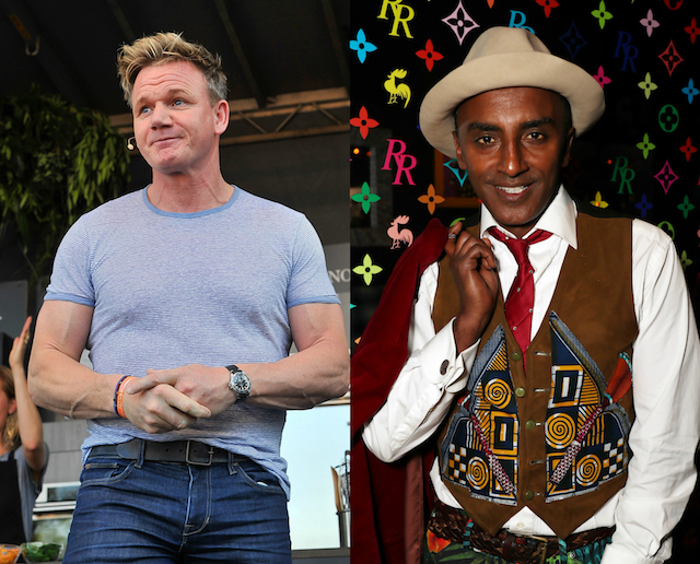 Gordon Ramsay's has been with a lot of people: Marcus Samuelsson