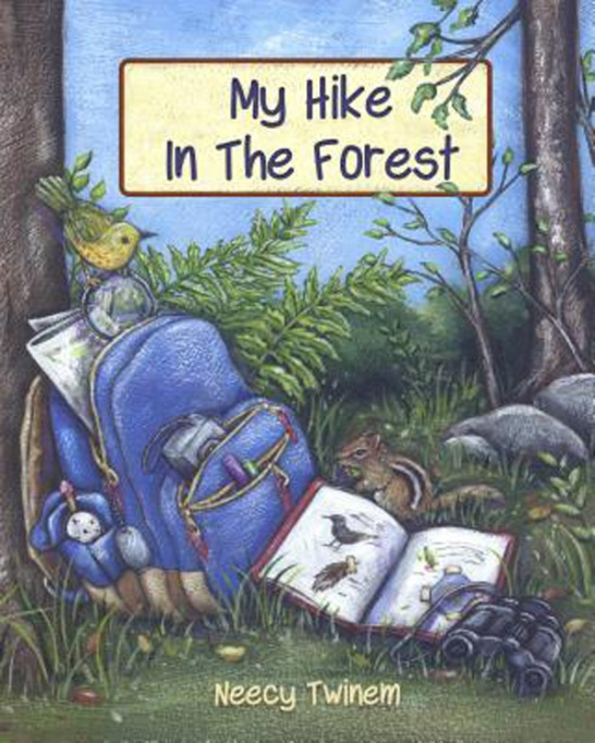 13 Children's Books for National Read A Book Day: My Hike in the Forest