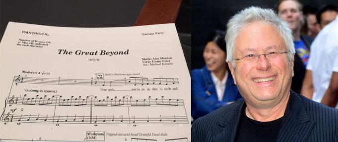 Sheet music for song 'The Great Beyond' written by Alan Menken