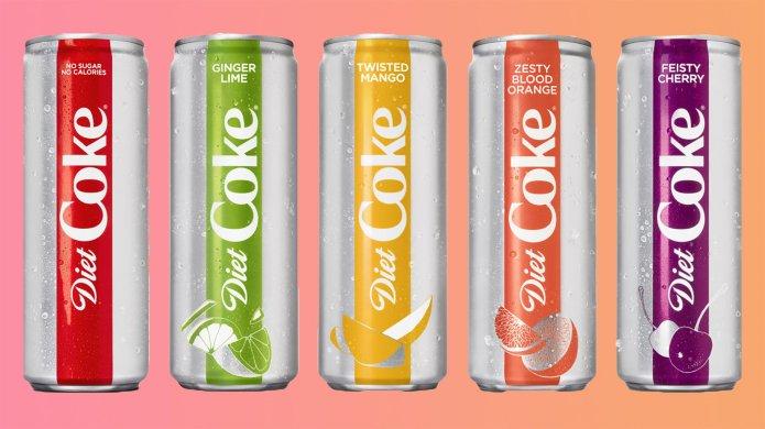 Diet Coke Is Releasing 4 New