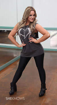 Lacey Schwimmer's favorite dance moves