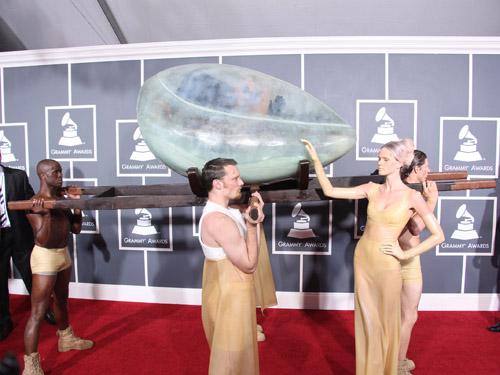 Lady Gaga Grammy egg