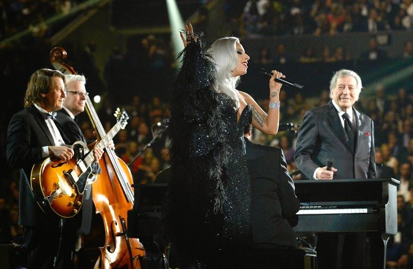 Lady Gaga at Grammys