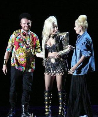 Lady Gaga meeting fans