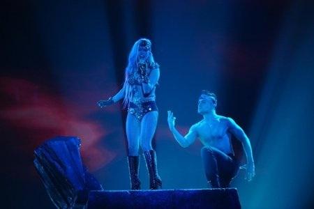 Lady Gaga on American Idol