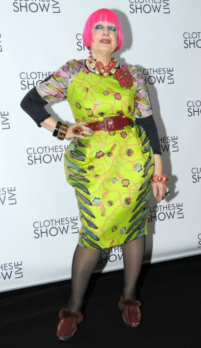 Zandra Rhodes opens London Fashion Week SS16