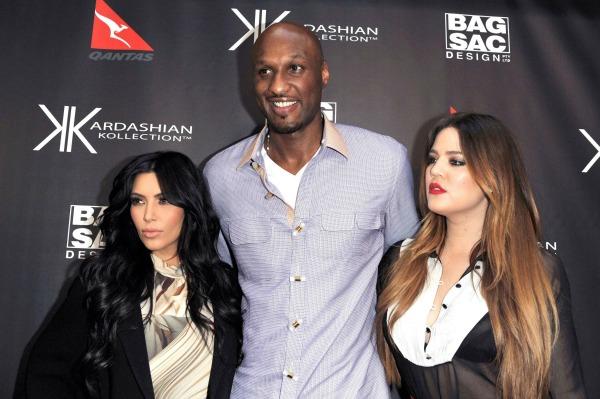 Kim kardashian Lamar Odom Khloe Kardashian