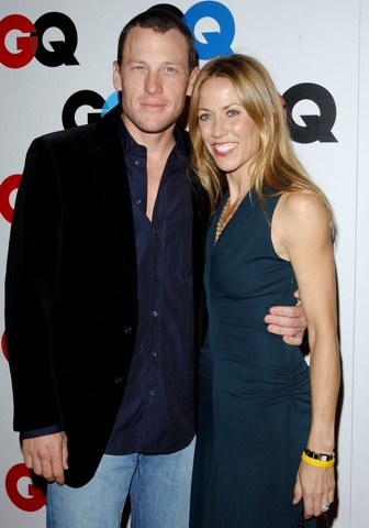 Lance Armstrong and Sheryl Crow in happier days