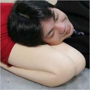 Lap nap pillow