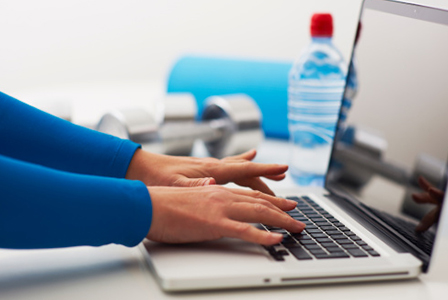 Laptop and workout supplies | Sheknows.ca