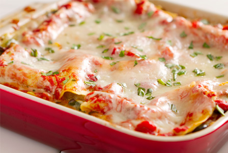 Lasagna for meal exchange