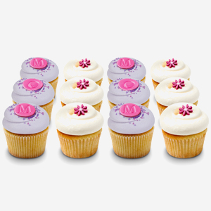 """I Love Mom"" dozen from Georgetown Cupcake"