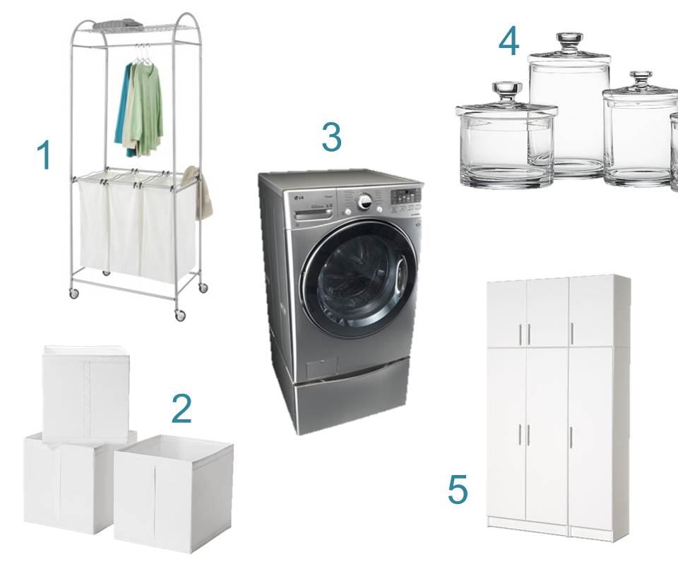 laundry fixtures montage