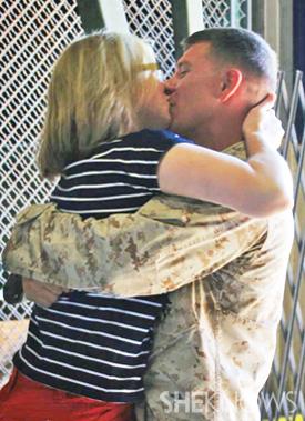 Laura Crawford and husband