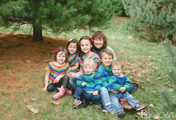 Laura's Christmas family photo