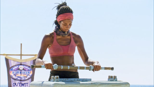 Laurel Johnson on Survivor: Ghost Island