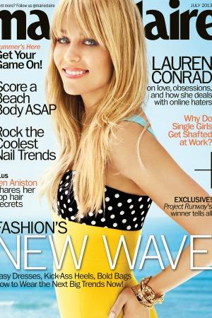 Lauren Conrad Marie Claire July 2013 cover