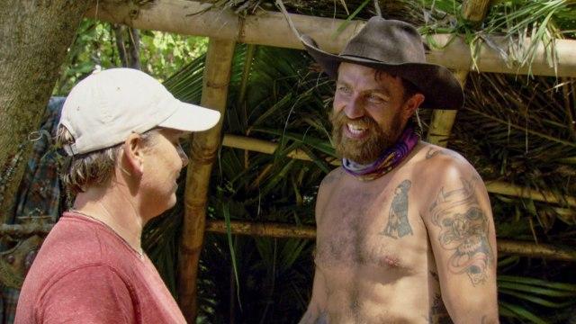 Lauren Rimmer with Ben Driebergen on Survivor: Heroes Vs. Healers Vs. Hustlers