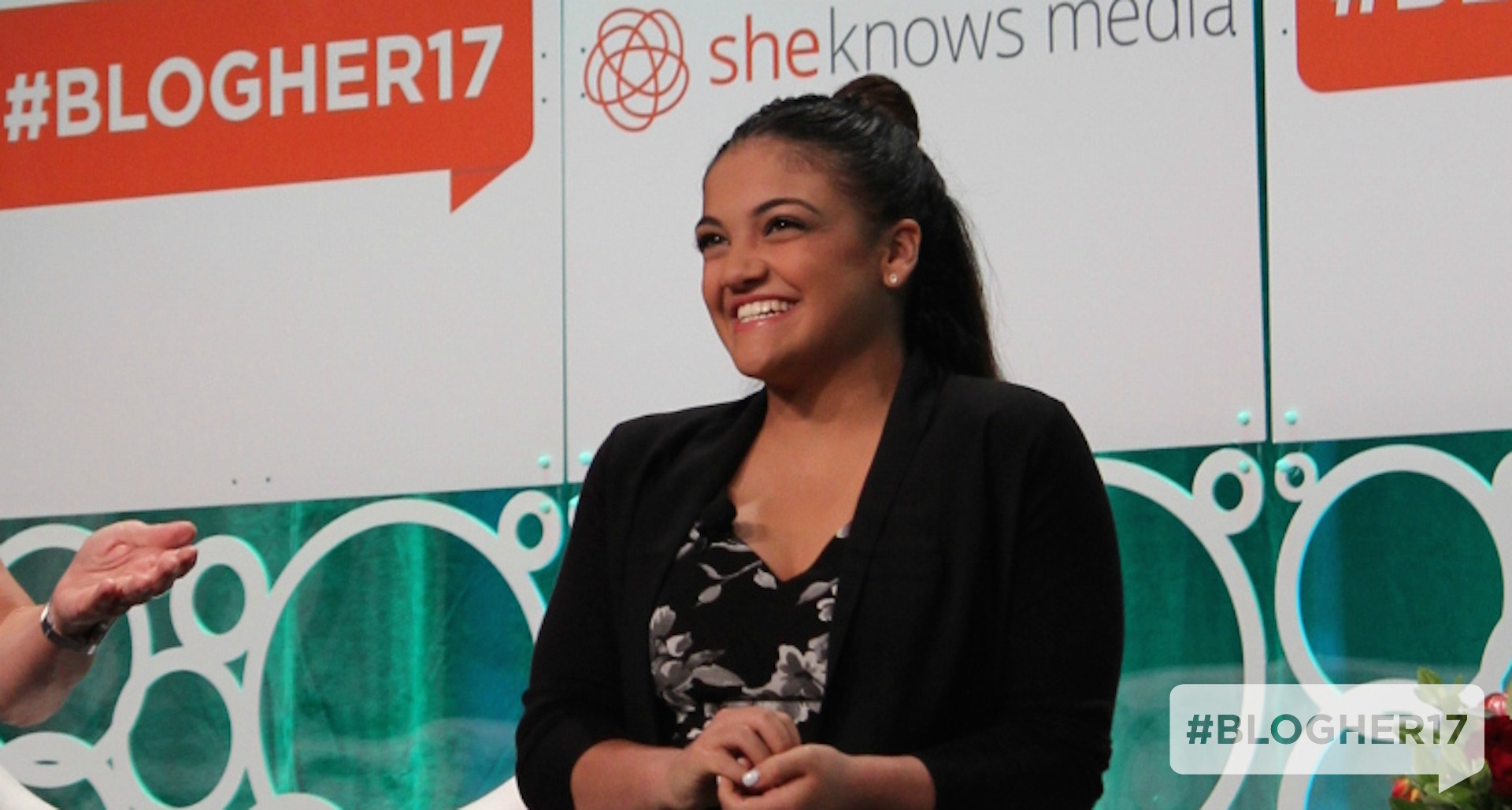 Laurie Hernandez at BlogHer17